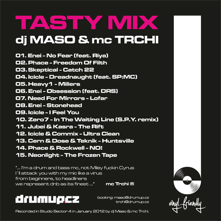 TASTY MIX back